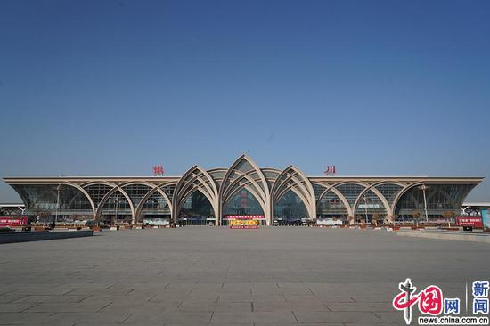 银川站全貌。中国网发 马登平/摄