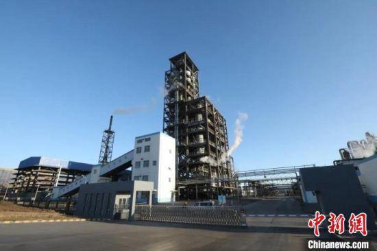 图为兰石金化千吨级循环流化床加压煤气化示范项目。(资料图)兰石宣传部供图