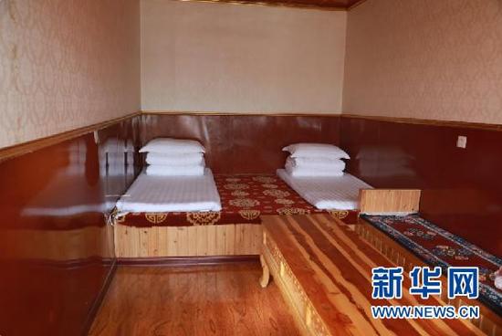 尕秀村村民贡保加宽敞明亮的藏家乐
