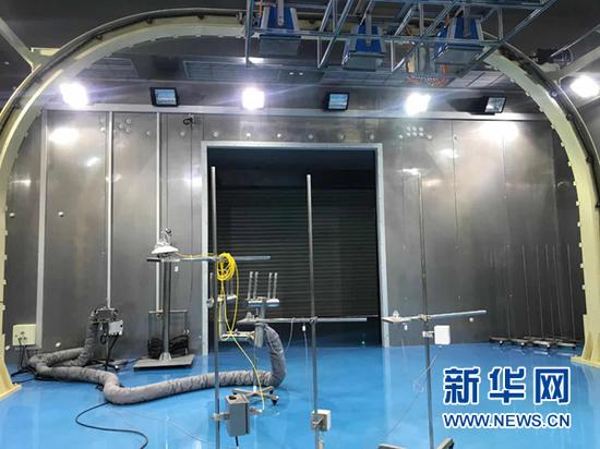 多场耦合实验室(资料照片)。新华社记者 张玉洁 摄