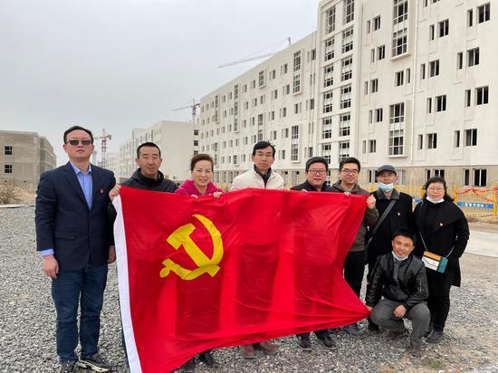 """兰州工业学院公寓管理服务中心党支部举行""""学党史、谋发展"""""""
