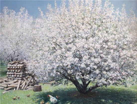 《春风》85×110cm 2011年