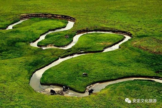 岷县狼渡滩湿地草原