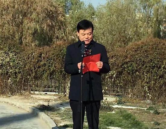 甘肃省文化厅党组成员、甘肃画院党委书记李积麒讲话