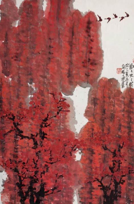 《红红火火》46cm×68cm