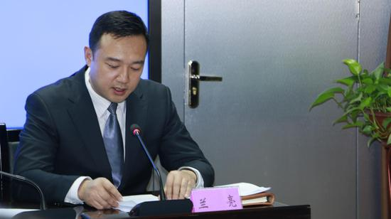 甘肃省自然生态保护处副处长兰亮