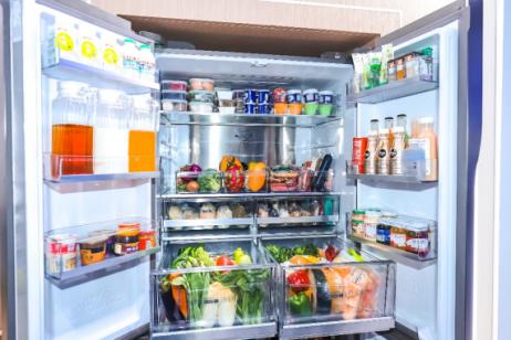 以技术迭代实现全球唯一全空间保鲜海尔冰箱展原创科技第1实力