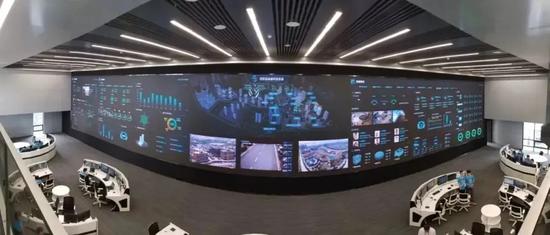 潼湖科技小镇智慧城市指挥管理中心