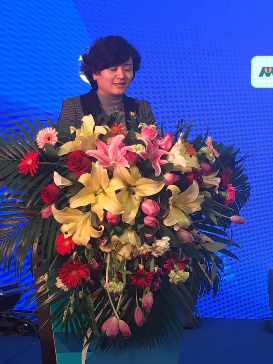 兰州市人民政府副市长马彩云致辞