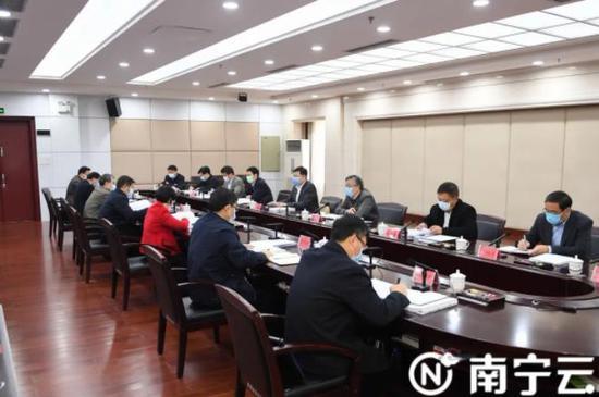 强首府战略领导小组第二次会议召开