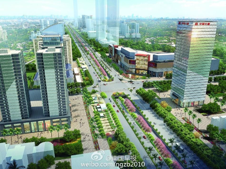 南宁民族大道将成广西第一路