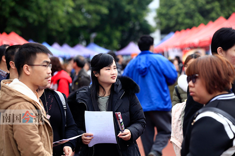 柳州:357家单位带来6000多个岗位 大部分没招到人