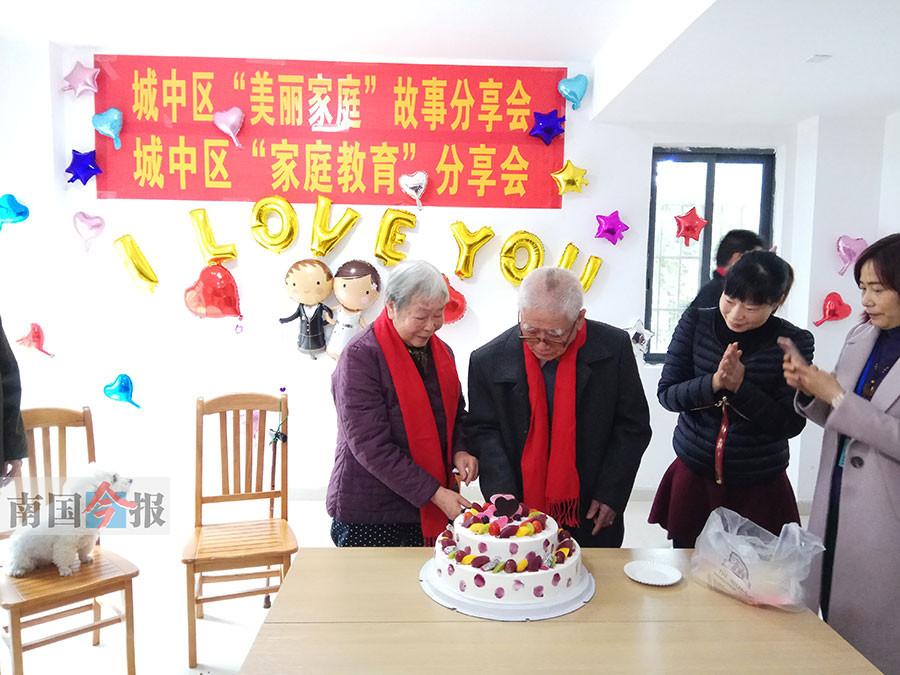 柳州:不离不弃60载 钻石婚老人的爱情故事羡煞旁人