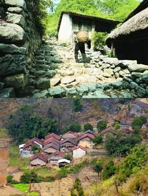 广西最隐秘的石头寨 只有27户人家