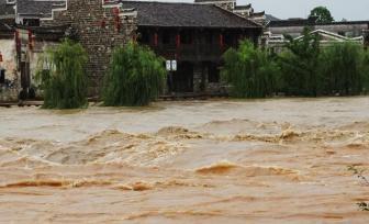 广西强降雨致1人失踪 九千多灾民被紧急转移安置