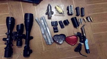 警方破枪弹制售黑色产业链 涉15省27市