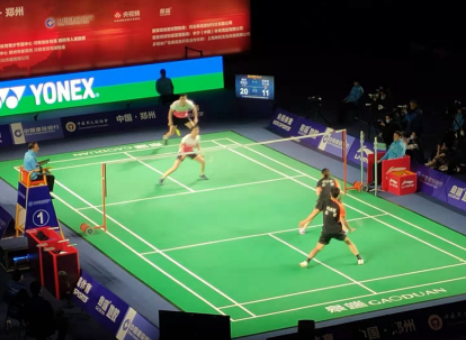 广西获2021全国羽毛球冠军赛双打第一