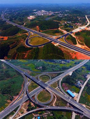 吴圩至大塘高速公路将于11月底通车