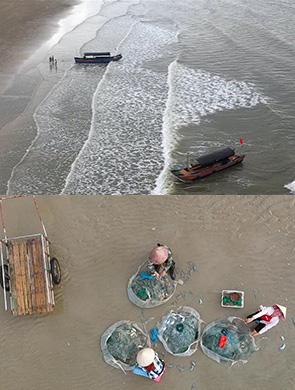 """京族三岛:休渔期唱起""""旅游戏"""""""