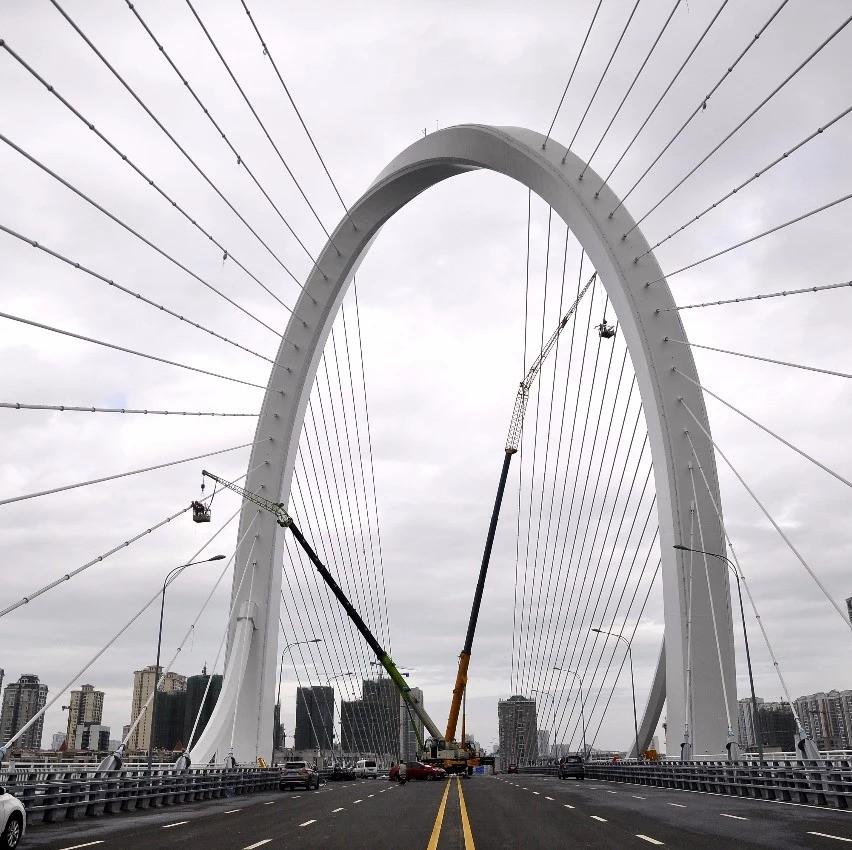 柳州白沙大桥东端匝道间将改建成停车场