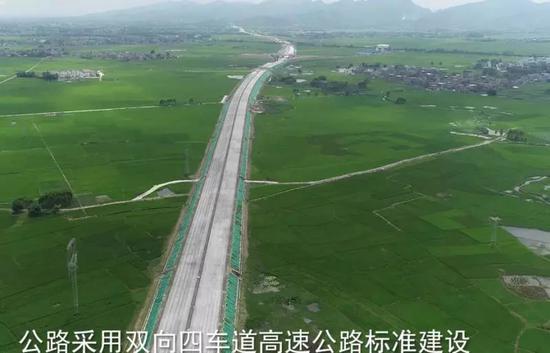 县县通投资208亿元!贵港至隆安高速计划7月1日通车