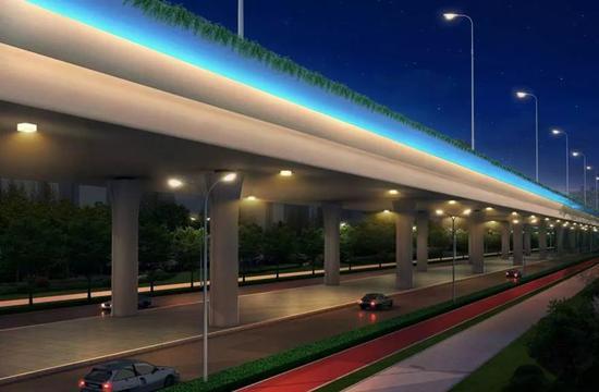 贵港年底将新建一座立交桥 总投资额约1.8亿元