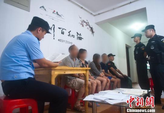 南京警方在24小时内依法刑事拘留了主要涉案人员。警方供图