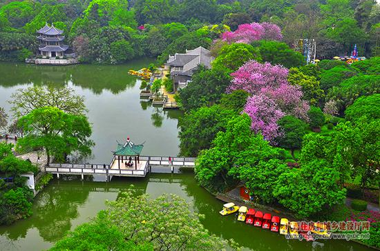 柳州打造花园城市(资料图)
