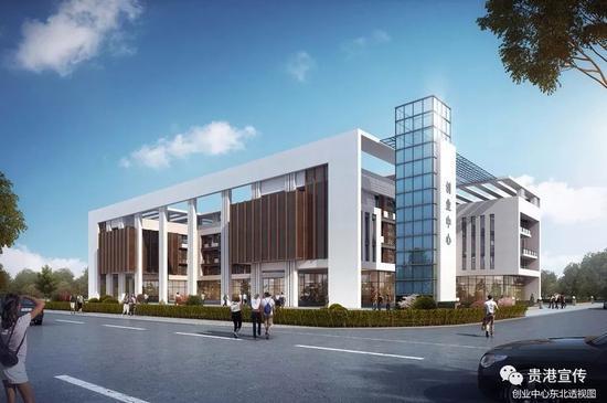 ▲广西物流职业技术学院创业中心