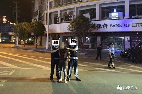 柳州男子闹市路口等红绿灯被砍 起因竟是7年前的事