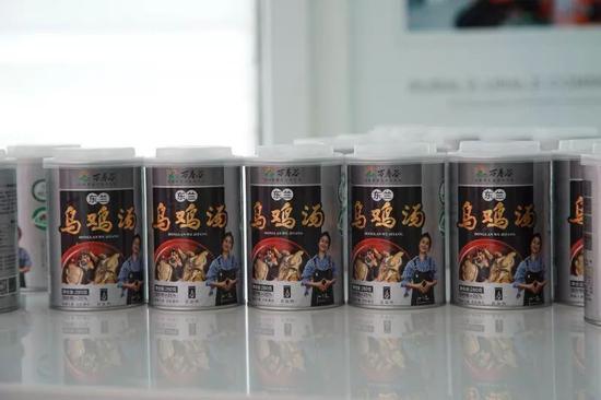 万寿谷生产的鸡汤罐头深受消费者欢迎
