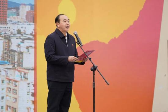 中共融安县委书记陈宏致辞