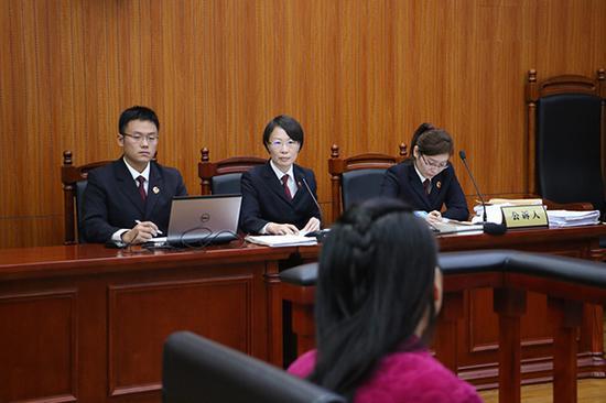 庭审现场 上海虹口检察院 供图网上卖的减肥药安全吗?