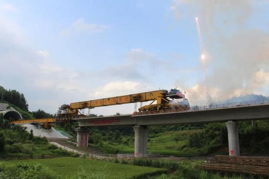 广西首条时速350公里的高铁项目又有重大进展了