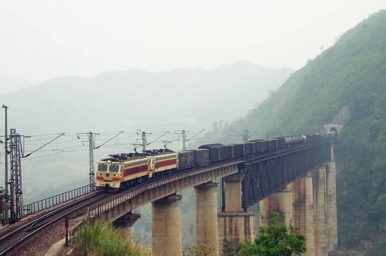 注意!全国铁路大调图 广西这些线路又有大变化