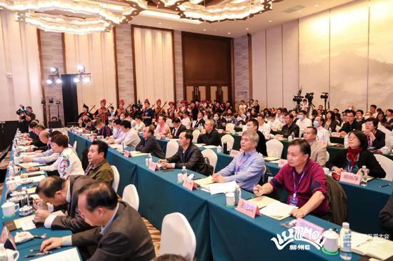 ▲2020年广西文化旅游发展大会现场。