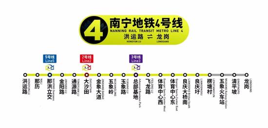 ▲南宁地铁4号线
