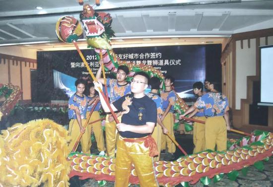 邕州狮舞澳洲