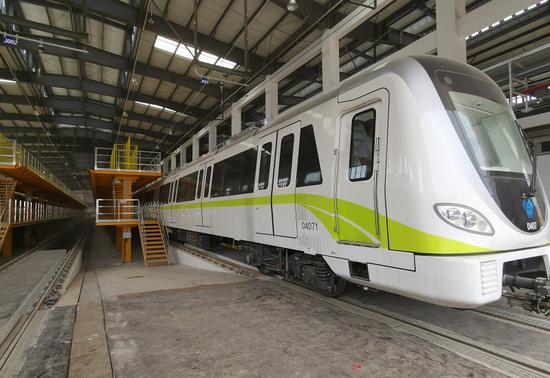又进一步!南宁地铁4号线完成热滑 即将进入试运行阶段