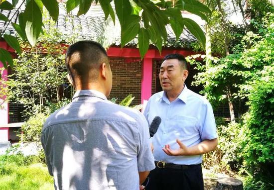 ▲中国视协电视纪录片学术委员会主任 高峰