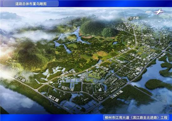 北部生态新区规划图