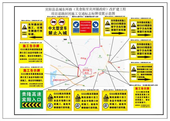 往返南宁宾阳的车友注意!这个路段将封闭施工到年底