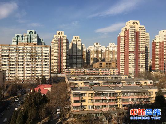资料图 北京住宅小区 中新经纬 摄