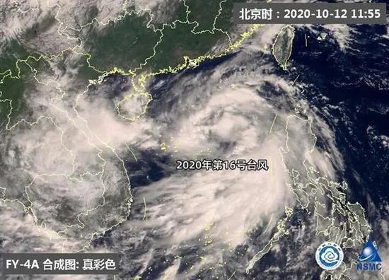 台风浪卡携冷空气来袭 广西将进入风雨影响核心时段