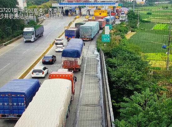广西高速ETC进入联调联试期 这些收费站排起了长龙