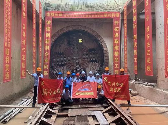 南宁地铁2号线东延线全线洞通 住五象新区的有福了