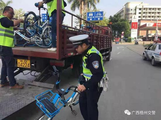 源头管控、常态清理 梧州交警对交通隐患排查把控