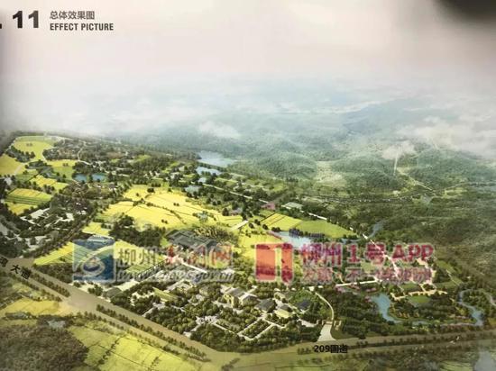 柳北这个片区要大变样!又一个特色小镇开建