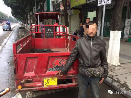 肇事司机指认肇事车辆