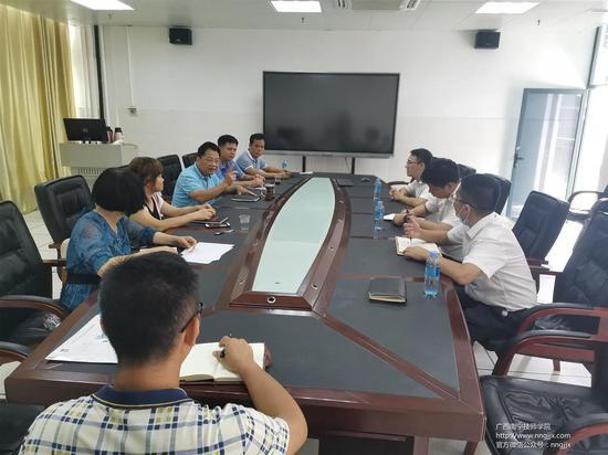 珠海格力电器股份有限公司到广西南宁技师学院洽谈深度校企合作